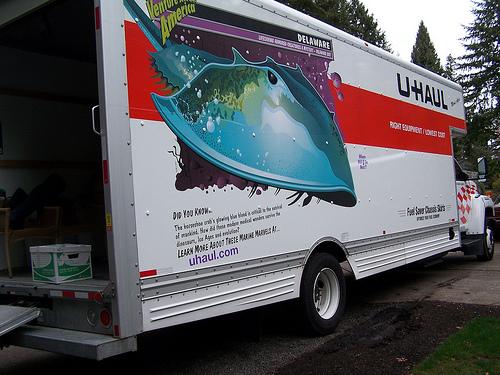 Melissa michaels moving truck