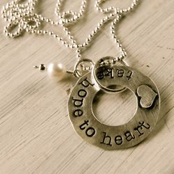 Take Hope to Heart necklace by Lisa Leonard