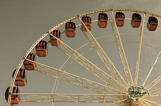Ferris Wheel photo by Alex E. Proimos