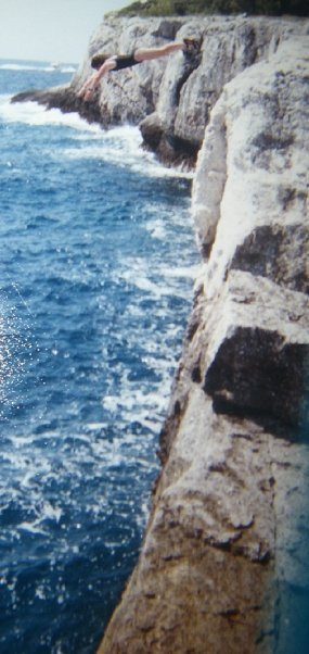 Cliff Jumping by Ginny