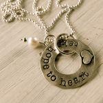 Lisa Leonard - Take Hope to Heart necklace