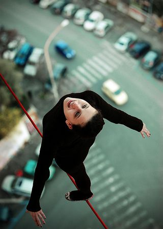 Tightrope photo by Nebe