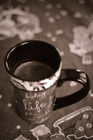Mug from the DaySpring Life Collection, photo by Dawn Camp