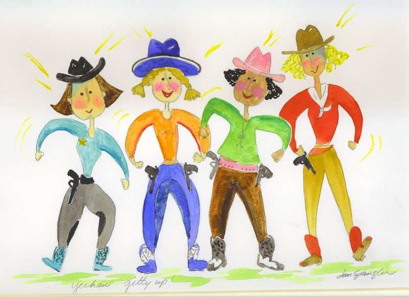 Cowgirls by Jan Spangler