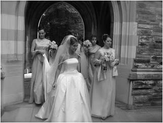 Angie Smith in Wedding Dress