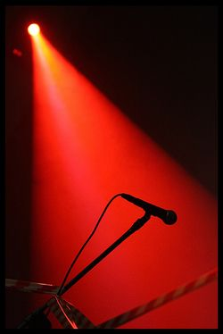 Microphone photo by powazny (flickr)