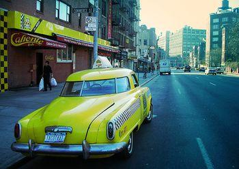 Taxi photo by Moriza (flickr)