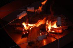 Smores bonfire
