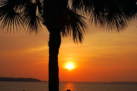 Sunset at hilton head