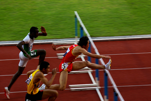 Hurdles photo by julie.froo (flickr)